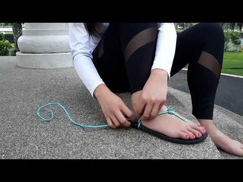 Vikini Sandals Basic Lacing