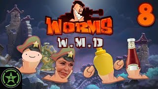 Michael Gets Cancelled - Worms W.M.D. (#8)   Let's Play
