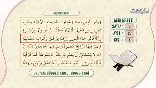 Cübbeli Ahmet Hocaefendi ile Mukâbele 1. Cüz