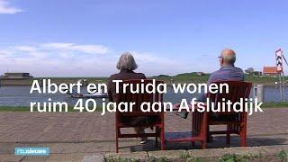 Albert en Truida wonen 43 jaar aan Afsluitdijk - RTL NIEUWS