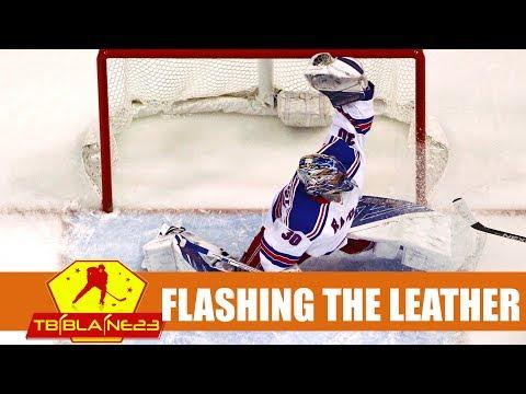 NHL Flashing the Leather