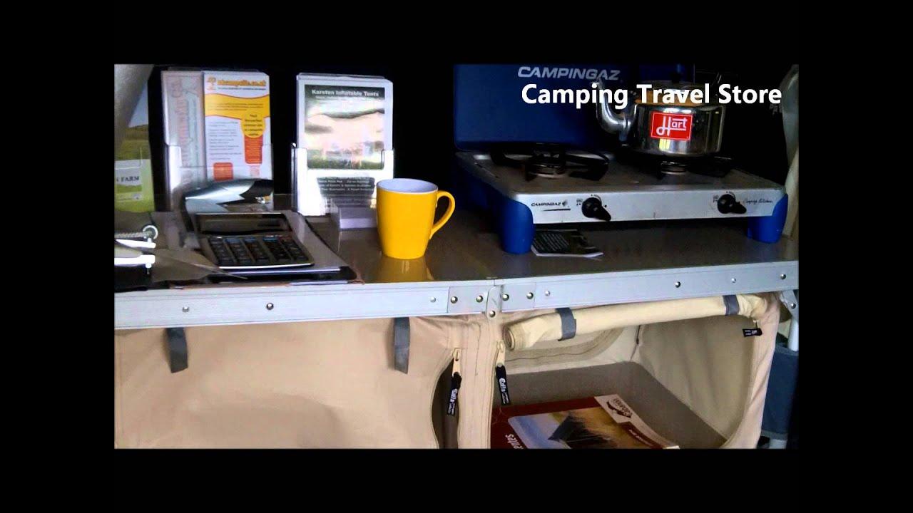 Karsten Air tent テント内部動画