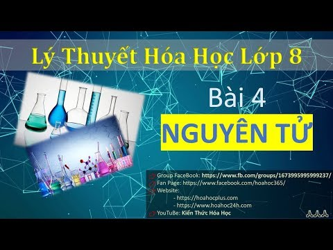 Hóa học lớp 8 - Bài 4 - Nguyên tử