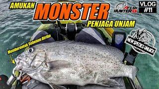 AMUKAN MONSTER PENJAGA UNJAM | unlock new species | -VLOG#11- | Kayak Fishing Malaysia