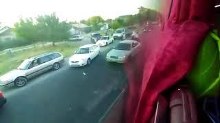 Смертельное ДТП на выезде из Шымкента.