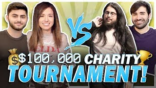 $100,000 LEAGUE CHARITY TOURNY Ft. Yassuo, Imaqtpie, Voyboy & more!