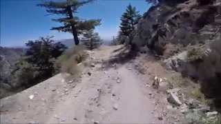Mt. Wilson Toll Road Downhill.