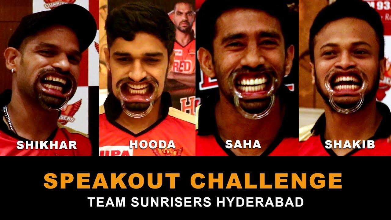SpeakOut Challenge For Sunrisers Hyderabad
