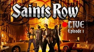 Saints Row | Let's play Live - Episode 1