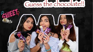Guess the chocolate challenge!! FT. Aashna & Unnati | Ashi Khanna
