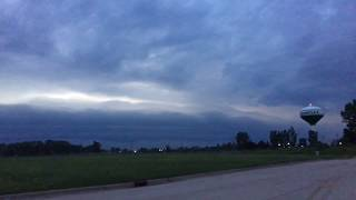 Severe Weather FUNNEL CLOUDS - Rockford Belvidere Huntley, Illinois 6/28/17