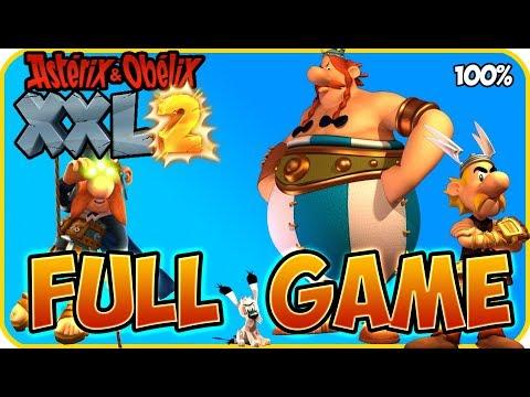 Asterix & Obelix XXL 2 Walkthrough FULL GAME Longplay (PS4, XB1, PC, Switch) Remaster