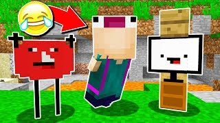 TRY NOT TO LAUGH MINECRAFT CHALLENGE! 😂