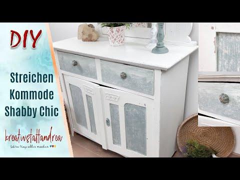 DIY - Shabby Chic   Möbel mit Kreidefarbe streichen   Tutorial