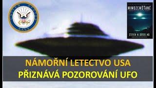 US NAVY priznáva pozorovaní UFO