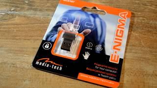 Czytnik linii papilarnych na USB Media-Tech - Krótko i na temat (MT5107)