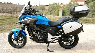 HONDA NC 750X Travel Edition Blue 2019 Speedmaster Arezzo