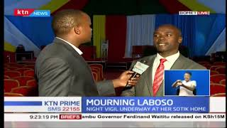 Final preparation for the memorial service for the late Bomet governor Joyce Laboso