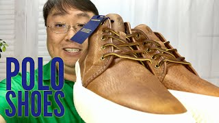 Polo Ralph Lauren Mens Thurlos Brown Leather Sneaker Review
