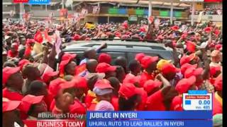 Jubilee in Nyeri  : County is perceived as Jubilee's stronghold