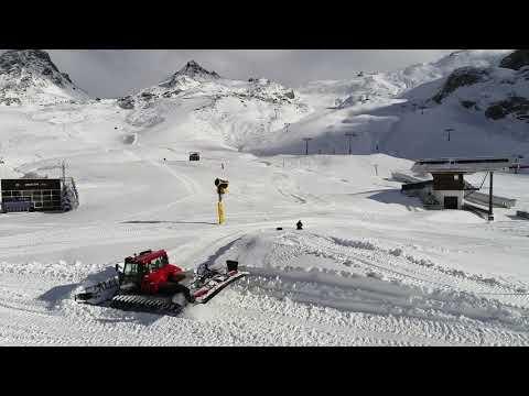 Snowupdate, 11.11.2019, Ischgl-Samnaun, Pistenbully