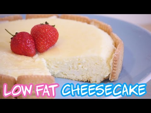 Video Low Fat Cheesecake!