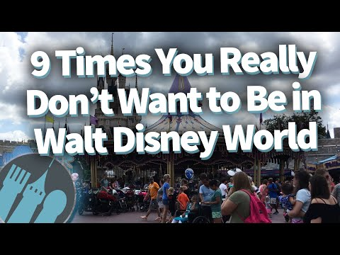 9 Times You Really Don't Want to Be in Walt Disney World!