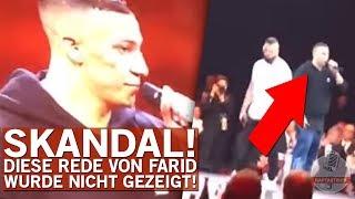 Manipulation Beim ECHO? – Rede Von Farid Bang Nicht Gezeigt!
