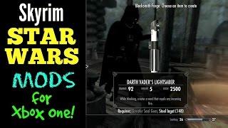 Skyrim Star Wars Mods for Xbox One!