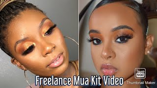 WHATS IN MY FREELANCE MAKEUP ARTIST KIT! - 2020 AFFORDABLE EDITION HIGLY REQUESTED!