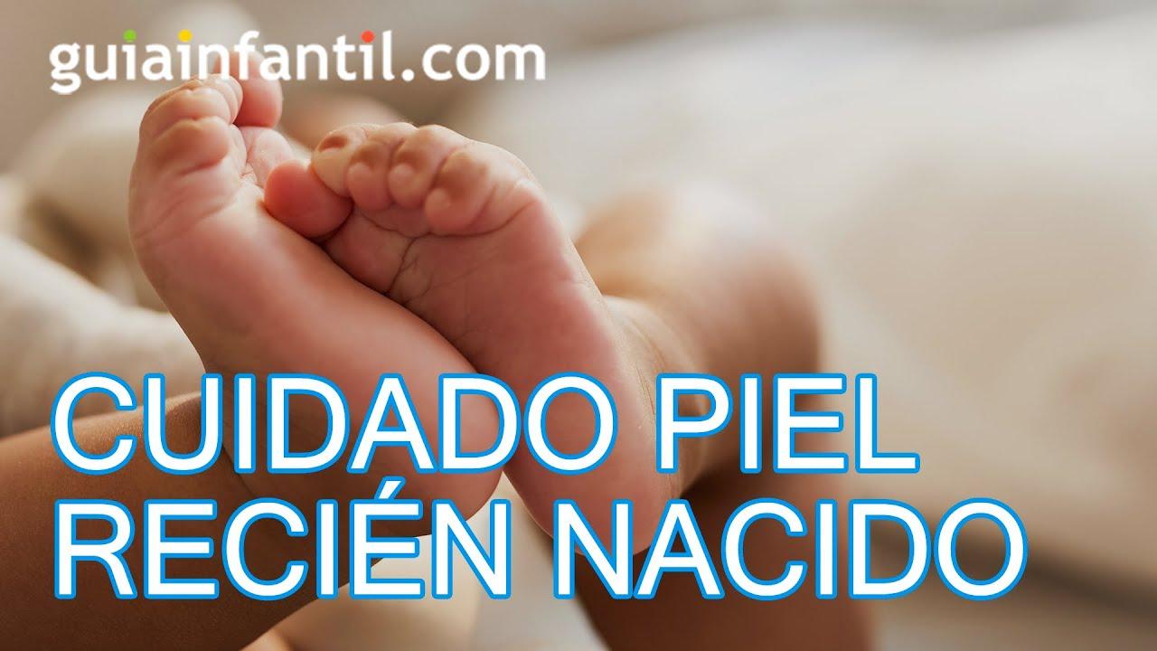 Cuidados de la piel del bebé recién nacido