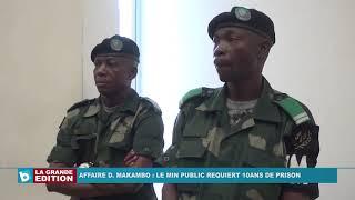 Affaire Dolly Makambo: Le ministère public requiert 10 ans de prison