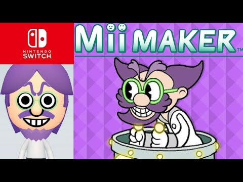 Mii Maker How To Create Dr  Kahl From Cuphead / Nintendo