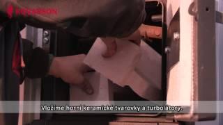 Kovarson - montáž kotle TIGER 55 kW do průmyslového objektu