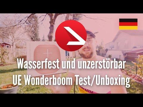 Wasserfest und unzerstörbar - UE Wonderboom Test /Unboxing