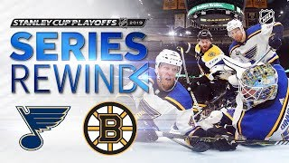 SERIES REWIND: Blues defeat Bruins in seven to win first Stanley Cup title