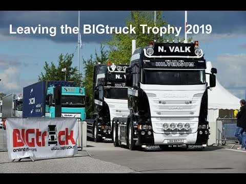 Video bij: Video van vertrek BIGtruck Trophy 2019