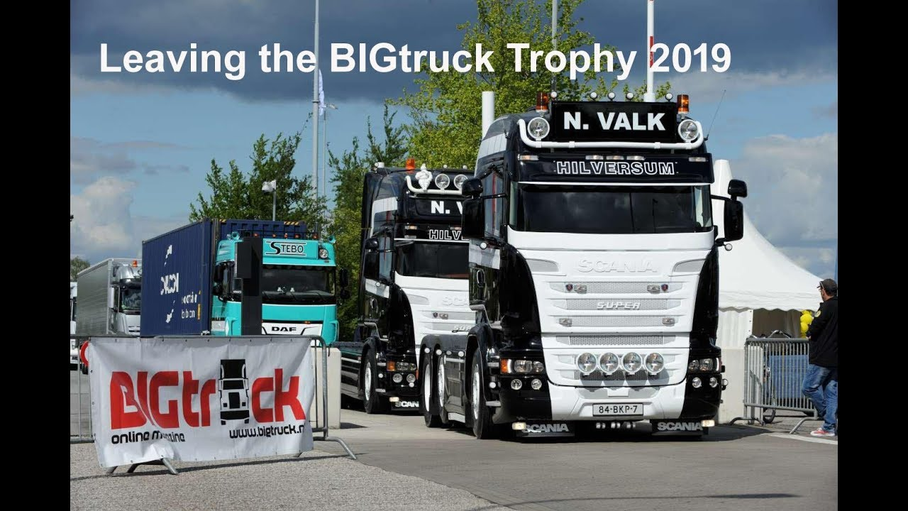 Leaving the BIGtruck Trophy 2019