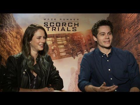 Watch the 'Maze Runner: The Scorch Trials' Cast Play