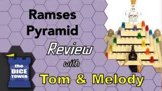 Ramses Pyramid Review (Lego Game) - with Tom Vasel