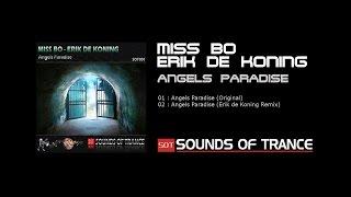 Miss Bo & Erik de Koning - Angels Paradise (Original mix) Official Video