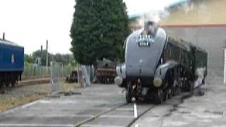 A4s, 60007 Sir Nigel Gresley, 60019 Bittern And 4462 Mallard At York On July 6th 2008