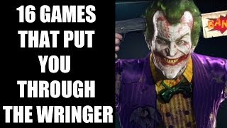 16 Video Games That Put You Through The Wringer