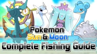 Mareanie  - (Pokémon) - Pokemon Sun and Moon ► How To Get All RARE Fishing Encounters (Dhelmise, Feebas, Mareanie & MORE!)