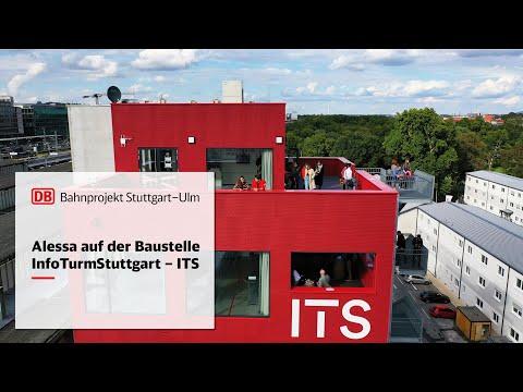 Alessa auf der Baustelle – InfoTurmStuttgart | ITS