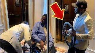 50 Cent Steals Daryl Mitchell's Wheel From Wheelchair For Owing Him Money