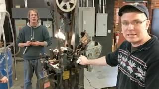 "C. B. Gitty's 1914 W. S. Hawker dowel machine  a.k.a. ""The MoneyMaker"" - equipment overview"