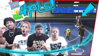 The 4 Point Shot Is SAVING Our Lives...Or Is It?? - NBA 2K19 Playground Gameplay