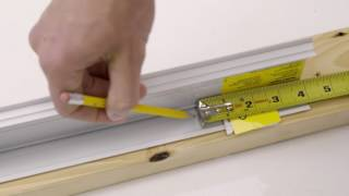 Installing Battery Powered Serena Roller Shades