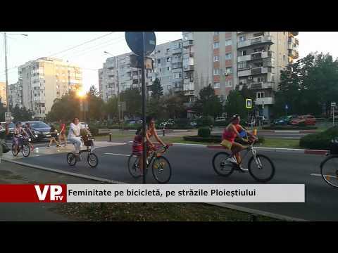 Feminitate pe bicicletă, pe străzile Ploieștiului